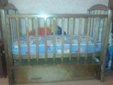 Кроватка детская+борты+матрац. Фото 4.
