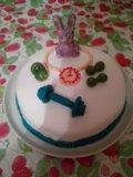 Домашние торты с мастикой на заказ. Фото 4.