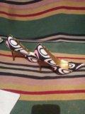 Туфельки roberto cavalli оригинал 36 размер. Фото 1.