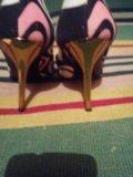Туфельки roberto cavalli оригинал 36 размер. Фото 4.