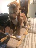 Лошадка качеля. Фото 2.
