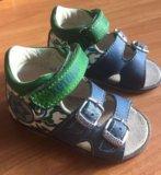 Кожаные сандали котофей. Фото 3.