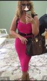 Бандажное платье. Фото 1.