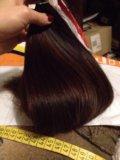 Натуральные волосы 40см. Фото 1.