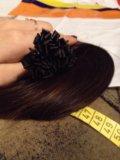 Натуральные волосы 40см. Фото 3.