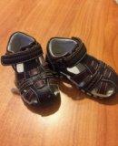 Кожаные сандали. Фото 2.