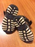 Кожаные сандали. Фото 3.