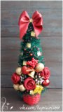 Сувенирные елки ручной работы. Фото 2.