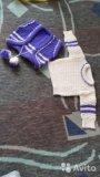 Вязанный набор( кофта, жилетка, штанишки, берет). Фото 3.