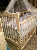 Кроватка детская новая!!. Фото 1.