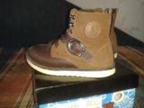 Ботинки детские кожаные зимние. Фото 1.