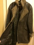 Продаю кожаное пальто. Фото 2.