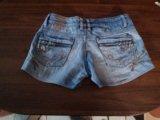 Шорты джинсовые. Фото 1.