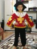 Новогодний костюм мушкетер. Фото 1.