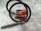 Бетонный глубинный вибратор. Фото 4.