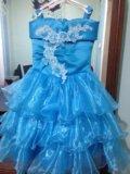 Нарядное платье на девочку. Фото 1.