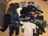 Пакет вещей для мальчика и комбинезон 104-116. Фото 1.