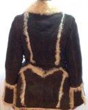 Дублёнка из натурального меха тосканского ягнёнка. Фото 1.
