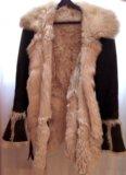 Дублёнка из натурального меха тосканского ягнёнка. Фото 4.