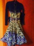Спортивное бальное платье. Фото 1.