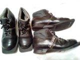 Ботинки лыжные размер 32-33. Фото 1.