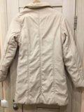Куртка женская 42-44р молочного цвета. Фото 2.