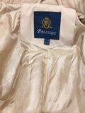 Куртка женская 42-44р молочного цвета. Фото 3.