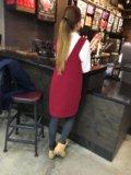Платье-сарафан новое тёплое. Фото 2.