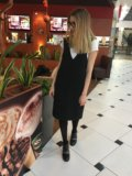 Платье-сарафан новое тёплое. Фото 1.