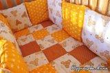 Бортики, лоскутное одеяло. Фото 1.