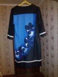 Трикотажное платье (р.52-54). Фото 1.