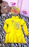 Трикотажное платье 4-6лет. Фото 1.