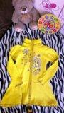 Трикотажное платье 4-6лет. Фото 3.
