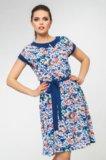 Новое летнее платье с этикеткой 52 размер. Фото 1.