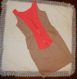 Платье с баской. Фото 1.