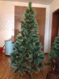 Елка новогодняя искусственная 180 см. Фото 1.