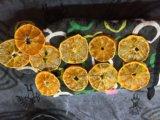 Сушеные мандариновые кружочки 20 шт. Фото 1.