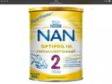 Смесь нан гипоаллергенный 2. Фото 1.