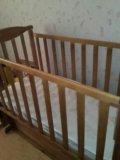 Кроватка с механизмом качения. Фото 1.