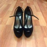 Замшевые туфли centro. Фото 1.