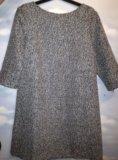 Платье серое incity. Фото 1.
