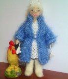 Куколка амигуруми. снегурочка. Фото 3.