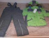 Зимний комплект для мальчика: куртка и штаны. Фото 1.