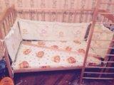 Кроватка+матрас. Фото 2.