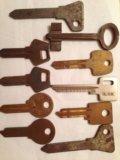 Болванки  для  ключей. Фото 1.