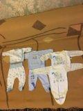 Пакет детских вещей 56-74 см. Фото 3.