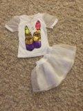 Платье рубашка от 2.5/3 лет. Фото 2.