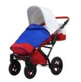 Детская коляска, tako laret flag, 2в1. Фото 3.