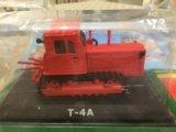 Модельки тракторов. Фото 1.