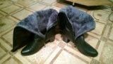 Кожаные сапоги / ботфорды. Фото 4.